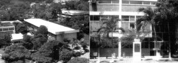 Edificios de la Facultad de medicina en la Universidad de Panama